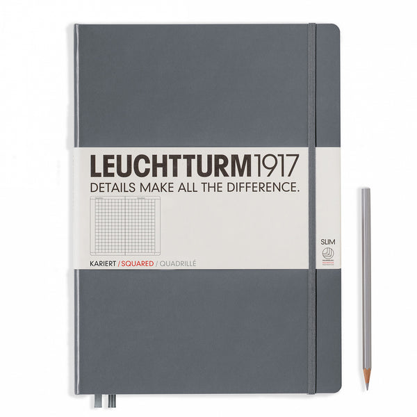 Leuchtturm1917 Master Slim Squared Hardcover Notebook