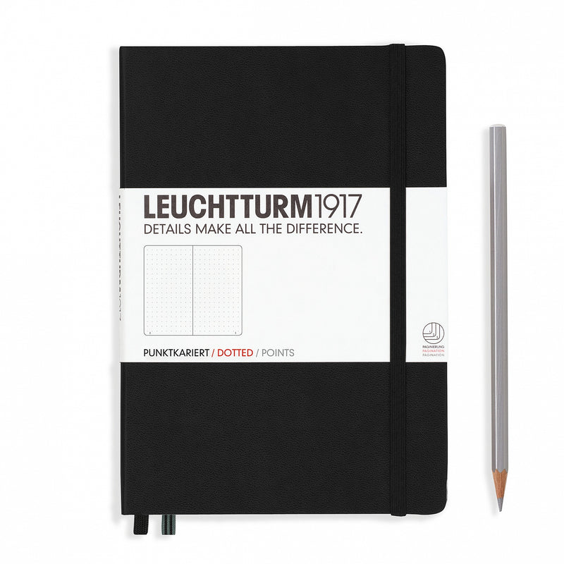 Leuchtturm1917 Medium Dots Hardcover Notebook