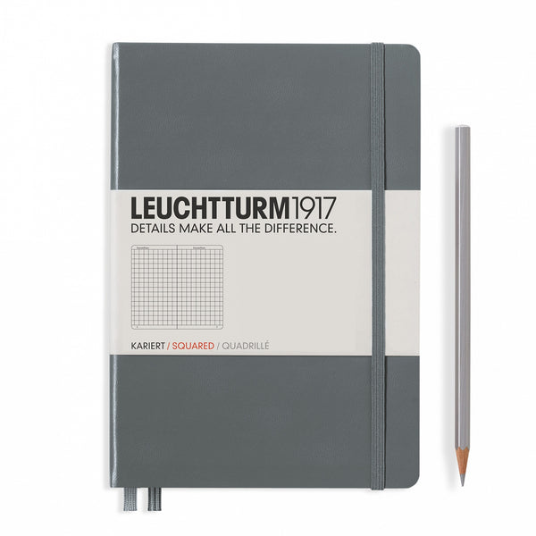 Leuchtturm1917 Medium Squared Hardcover Notebook - Laywine's