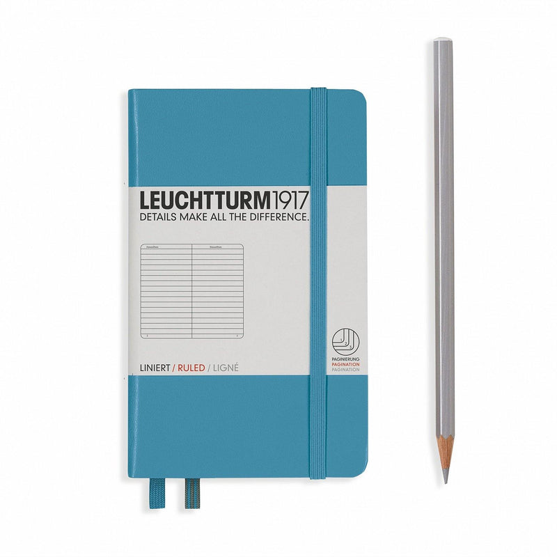 Leuchtturm Pocket Ruled Hardcover Notebook - Laywine's