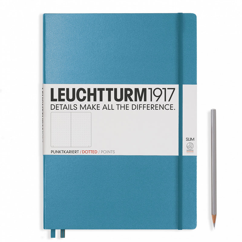 Leuchtturm1917 Master Slim Dots Hardcover Notebook