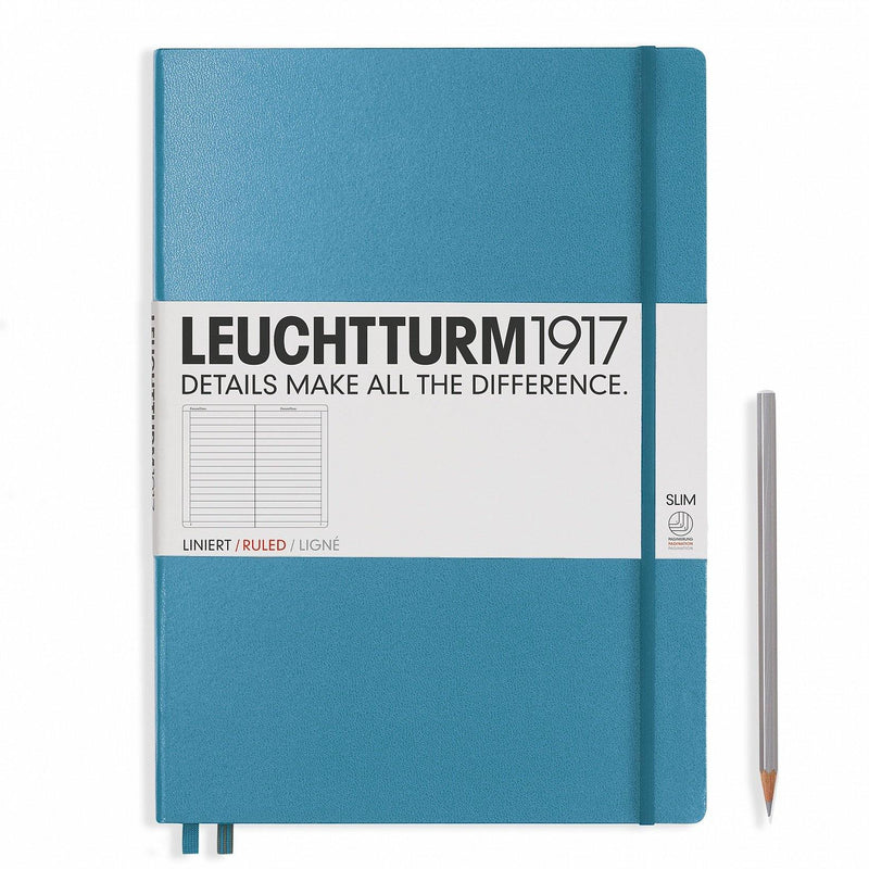 Leuchtturm Master Slim Ruled Hardcover Notebook - Laywine's