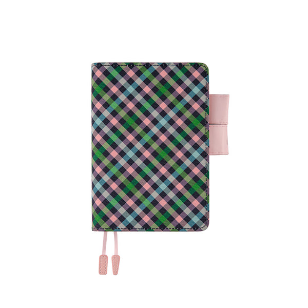 Hobonichi Techo Planner and Cover Bonbon Plaid 2020 - Laywine's
