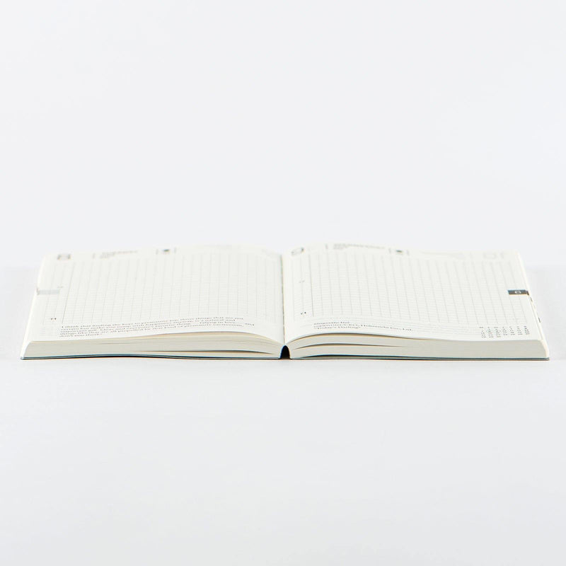 Hobonichi Techo Planner and Cover, Noboru Makizuka: Umikoto, 2021