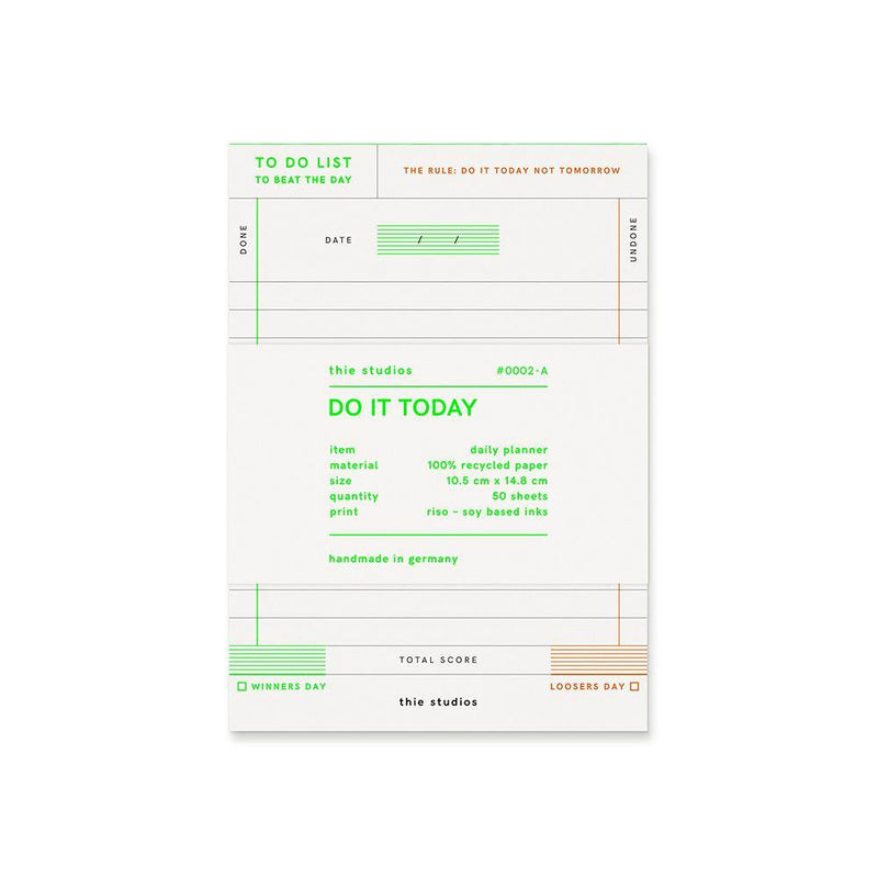 thie studios Do It Today Notepad - Laywine's