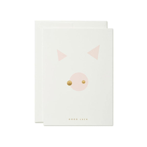thie studios Lucky Pig Card - Laywine's