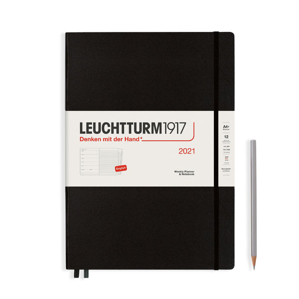 Leuchtturm Weekly Planner and Notebook Master Hardcover 2021 - Laywine's