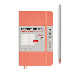 Leuchtturm Weekly Planner and Notebook Pocket Softcover 2021 - Laywine's