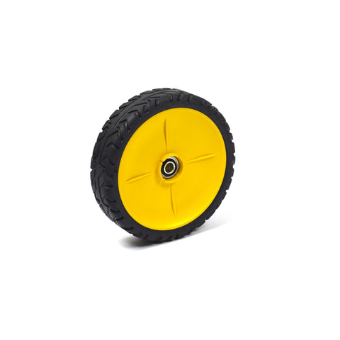 Briggs & Stratton 7500544YP Wheel Assembly, John Deere Yellow (8x2)