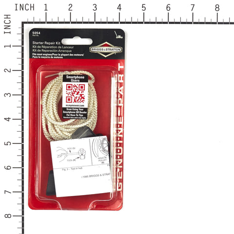 Briggs and Stratton 5054K Starter Rope Repair Kit