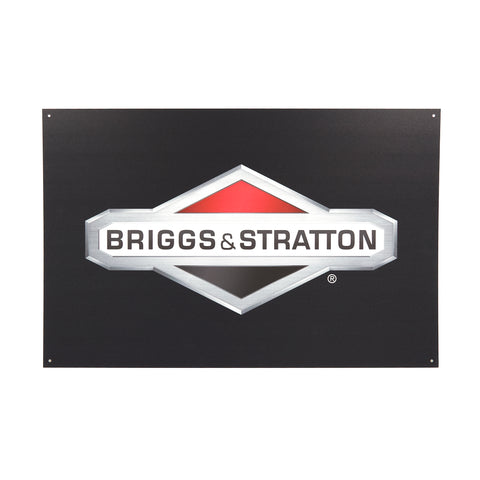 Briggs and Stratton AM9873A Briggs & Stratton Aluminum Sign