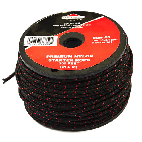 Briggs and Stratton 792912 #5 Starter Rope (200')