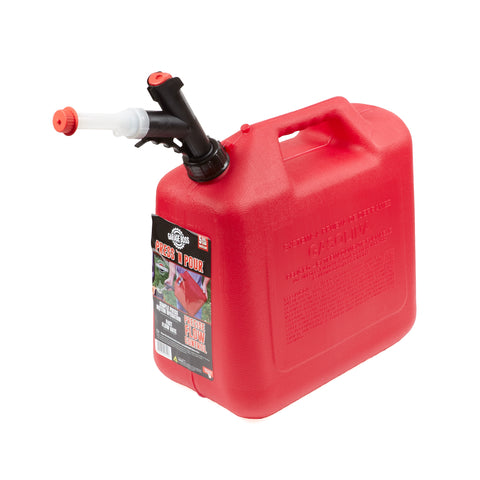 Briggs and Stratton GB351 GarageBoss Press 'N Pour 5 Gallon Gas Can