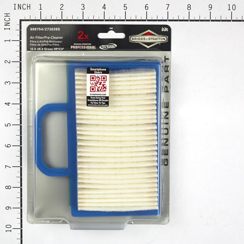 Briggs and Stratton 5069K Air Filter with Pre-Cleaner