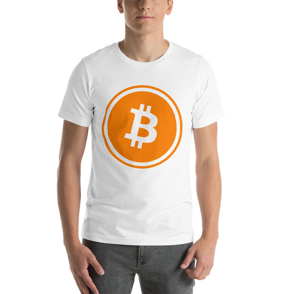 Bitcoin Icon Bordered