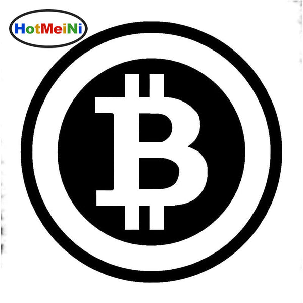 Bitcoin Sticker Vinyl (15cm Diameter)