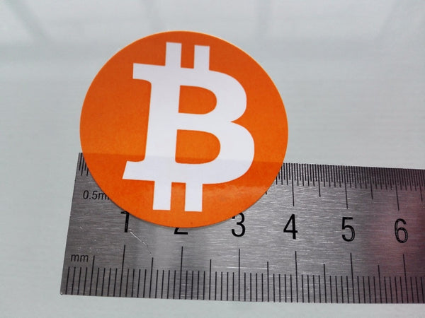 Bitcoin Icon Stickers (240 Pieces)