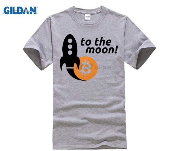 To The Moon Bitcoin Rocket