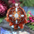 Ethiopian Opal with Silver Seed of Life and Back Om Multi-Stone