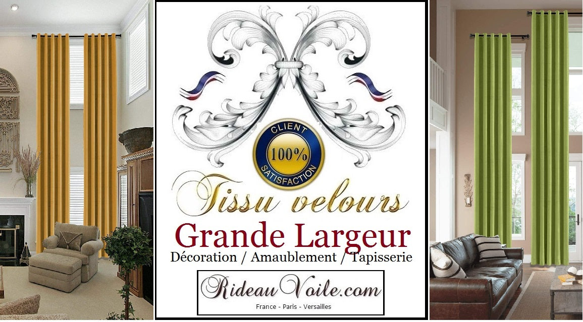 Rideauvoile  French country editor fabrics meter furnishing velvet luxury interior home tapestry upholstery decorating home