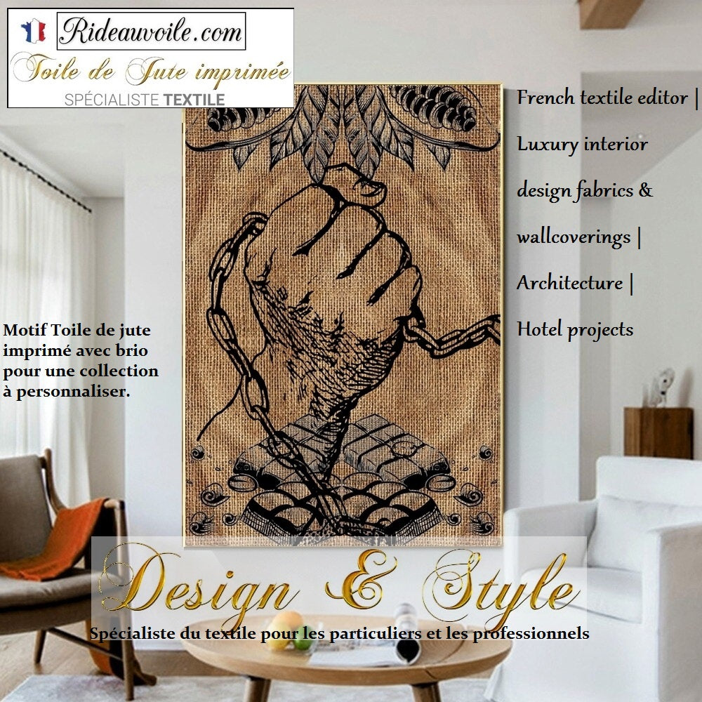 French textile editor  Luxury interior design fabrics burlaps wallcoverings Architecture upholstery Hotel projects