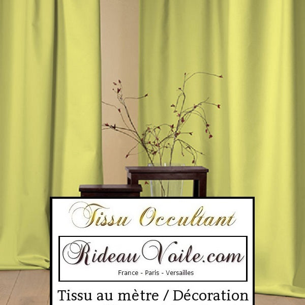 Tissu occultant obscurcissant ameublement au mètre confection sur mesure Décoration rideau. Blackout fabric meter for drapes curtain eyelets, apagones de telas, Stoff verdunkelung, stoffen, tenda, tendaggy, cortina تعتيم النسيج الغامض. Verduisterende verduisterende stof