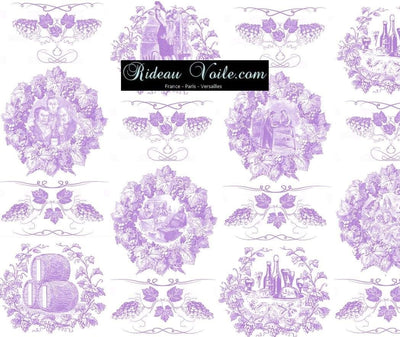 Toile de Jouy violet or tissu au mètre rideau coussin couette luxe Paris Versailles. Tissu ameublement tapisserie Empire Toile de Jouy violet rideau imprimé au mètre. Ignifugé occultant. Textile Empire country french fabric Toile Jouy curtain. Arte fresca Stoffe Klassizismus Empire Tapestry klädsel Restaurering gardintyg.Tecido tapeçaria cortina. Gordijnen, Gordijnstof, Gordijnstoffen.