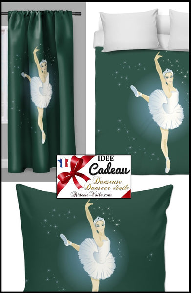 Tissu ameublement mètre motif Danseuse étoile Ballerine Décoration boutique rideau housse couette Ignifuge occultant, voilage Fabric upholstery meter pattern dancer star ballerina tapestry custom shop drapes curtain duvet cover flame retardant blackout