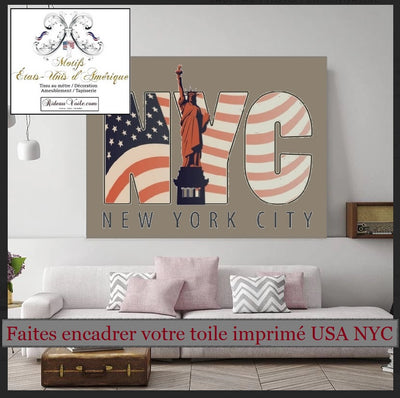 Motif rideau housse couette voilage design tissu USA voyage in New York City Fabrics pattern drapes duvet cover