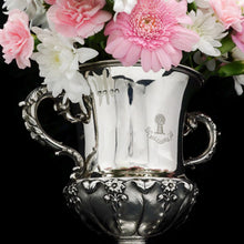 Load image into Gallery viewer, A Magnificent Georgian Two Handled Cup / Trophy in Campagna Form - Barnard 1829 - Artisan Antiques