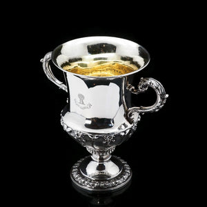 A Magnificent Georgian Two Handled Cup / Trophy in Campagna Form - Barnard 1829 - Artisan Antiques