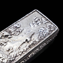 将图片加载到图库查看器中, A Georgian Solid Silver Snuff Box with Pheasant Scene - Thomas Shaw 1834 - Artisan Antiques