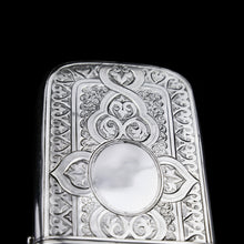 Load image into Gallery viewer, A Very Large Solid Silver Victorian Cigar/Cheroot Case - George Unite 1871