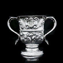 Load image into Gallery viewer, Georgian Solid Silver Loving Cup / Two Handled Cup - London 1748 - Artisan Antiques