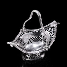 Load image into Gallery viewer, Antique Victorian Small Silver Sweet Basket/Bonbon Dish - Charles Stuart Harris 1890 - Artisan Antiques