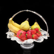 Load image into Gallery viewer, Victorian Solid Silver Fruit Basket - William Devenport 1897 - Artisan Antiques