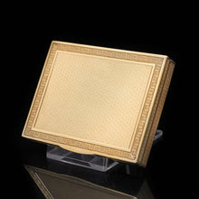 Load image into Gallery viewer, A Stylish Solid Silver Gilt Box/Case -  French 19th Century - Artisan Antiques