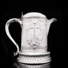 Load image into Gallery viewer, Enormous Solid Silver Flagon of The Hicks Family - London 1864 - Artisan Antiques