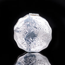 Load image into Gallery viewer, Antique Dutch 12 Sided Scalloped Silver Snuff Box with Gilt Interior - 1864 - Artisan Antiques