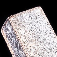 Load image into Gallery viewer, Magnificent Georgian Rose Gold & Silver Table Snuff Box - William Parker 1824 - Artisan Antiques