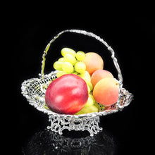 Load image into Gallery viewer, Victorian Solid Silver Fruit/Bonbon Basket Dish - William Comyns 1890 - Artisan Antiques