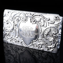 Load image into Gallery viewer, Antique Solid Silver German Snuff Box - 19th Century - Artisan Antiques