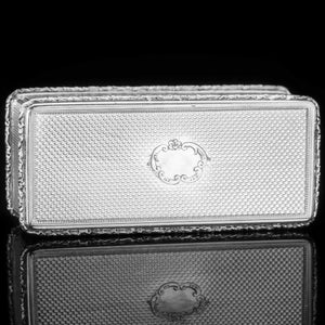 Large Silver Presentation Snuff Box with Police Interest  - Thomas Edwards 1838 - Artisan Antiques