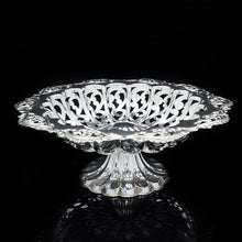 Load image into Gallery viewer, An Antique Solid Silver Pierced Tazza/Bowl Edwardian - Colen Hewer Cheshire 1906 - Artisan Antiques