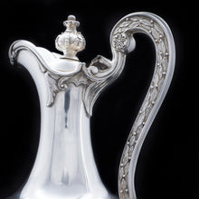 Load image into Gallery viewer, Magnificent Victorian Solid Silver Wine Ewer/Jug - Stephen Smith 1869 - Artisan Antiques