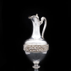 Magnificent Victorian Solid Silver Wine Ewer/Jug - Stephen Smith 1869 - Artisan Antiques