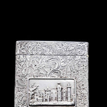 Load image into Gallery viewer, A Solid Silver 'Castle Top' Abbotsford House Card Case - Taylor & Perry 1835 - Artisan Antiques