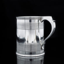 Load image into Gallery viewer, A Handsome Solid Silver Victorian Mug/Tankard - William Evans 1868 - Artisan Antiques