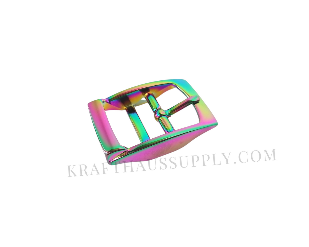 1 inch (26mm) Rainbow Double Bar Pin Buckle