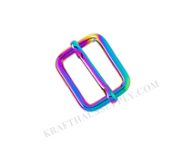 """3/4"""" (20mm) Rainbow Adjuster/TriGlide with Movable Bar"""
